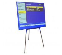 Доска-экран для проектора (флипчарт)