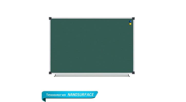 Школьная доска 1 пов. магнитная (мел, маркер, комби). Размеры. Цены